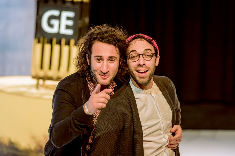 George & Eran worden racisten - Het Nationale Theater
